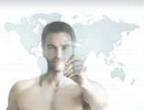 Man of the world Stock Image