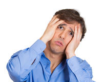 Man worried Royalty Free Stock Photography