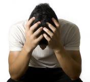 Man worried Stock Image