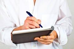 Man writing Royalty Free Stock Photo