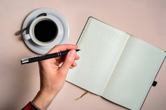 Free Man Writing By Left Hand Royalty Free Stock Images - 150987729