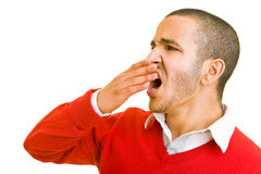Man yawning Stock Photos