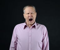 Man yawning Stock Photos
