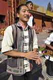 Man of the Yi Minority, China Stock Image