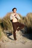 Man yoga Royalty Free Stock Photo