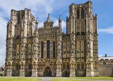 Mana la catedral, Somerset, Inglaterra Fotos de archivo libres de regalías