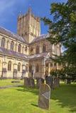 Mana la catedral, Somerset, Inglaterra Fotos de archivo