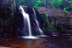 Manabezho Falls - Michigan Stock Photos
