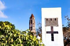 Manaca Iznaga tower in Valle de los Ingenios , Trinidad Stock Image