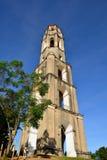 Manaca Iznaga wierza w Valle De Los Ingenios dolinie blisko Trinidad miasta w Kuba Obraz Stock