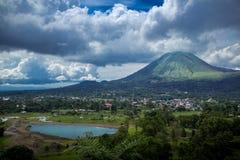 Manado in Indonesien Stockfoto