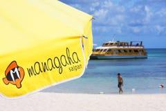 Managaha-Insel stockbilder