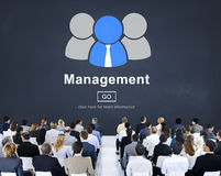 Managament Organization Process Controlling Strategy Concept stock illustration
