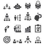 Manage icon. Web icon illustration design vector sign symbol Stock Images