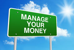 Manage Your Money Royalty Free Stock Image