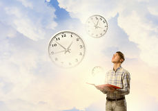 Manage your time Stock Photography