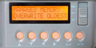 Managed memory Stock Photo
