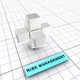 Management 2-Risk (2/6) Lizenzfreies Stockbild