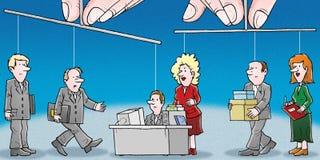Management lizenzfreie abbildung