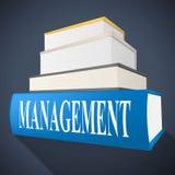 Management Book Represents Bosses Company y dirección Fotos de archivo libres de regalías