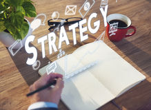 Management Branding Strategy Solutions Concept Stock Images
