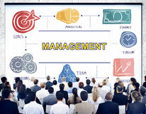 Management Business Coaching Process Strategy Concept Royalty Free Stock Images