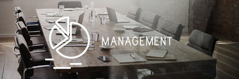 Management Business Controlling Dealing Strategy Concept Stock Photography