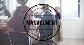 Management Business Strategy Homepage Concept Stock Image
