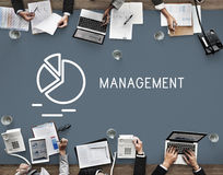 Management Business Strategy Manager Controlling Concept Stock Images