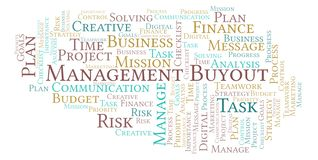 Management Buyout Word Cloud Made With Text Only Stock Illustration  Management Buyout Word Cloud Made With Text Only Stock Illustration   Illustration Of Message Planning