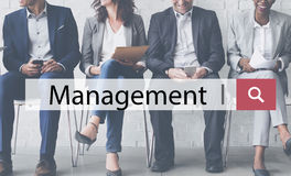 Management Coaching Dealing Manager Process Concept Stock Image