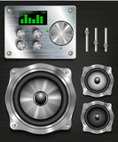 Management console speaker system. Royalty Free Stock Image