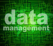 Management Data Represents Organization Authority And Managing Stock Photos