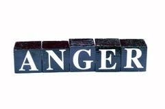 management de colère photographie stock libre de droits