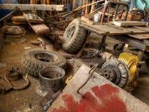 Management de déchets solides Image stock