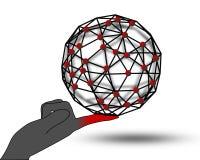 Management du réseau Photos stock
