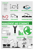 Management, Finance, Economics Infographics 3/3 Royalty Free Stock Photo
