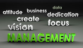 Management at the Forefront Stock Images