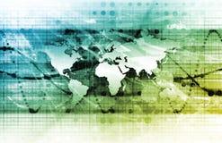 Management global illustration stock