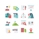 Management Icon Set. A set of management related icons, eps 10, no transparencies Stock Photos