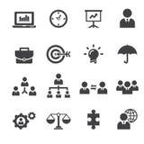 Management icon Stock Photos