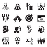 Management Icons Stock Image