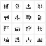 Management Icons Royalty Free Stock Image
