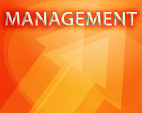 Management illustration Royalty Free Stock Images