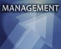 Management illustration Royalty Free Stock Photography