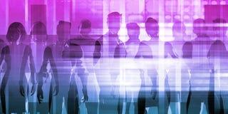 Management-Lösungs-Zusammenfassung lizenzfreies stockfoto
