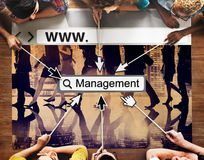 Management Manager Managing Organization Concept Stock Photography