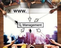Management Manager Managing Organization Concept Stock Images