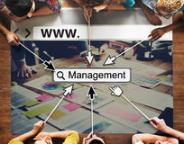 Management Manager Managing Organization Concept Royalty Free Stock Images