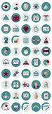 Management and Marketing Icons. 50 Management and Marketing Icons. All layers have their names, the document is well structured in groups for easy editing Stock Illustration